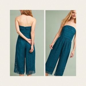 NWT Anthropologie Stowe lace jumpsuit